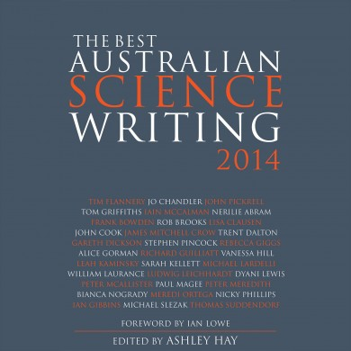 Australian Science Writing 2014